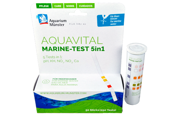 Aquarium Münster DR. BASSLEER AQUAVITAL MARINE-TEST 5in1