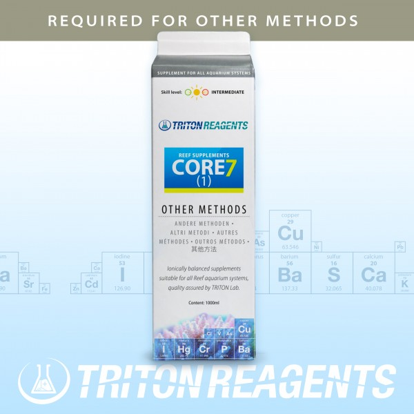 Triton Core7 Reef Supplements (1) 1000ml für andere Methoden