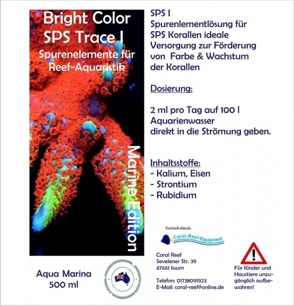 Aqua Marina Bright Color SPS I - 500 ml