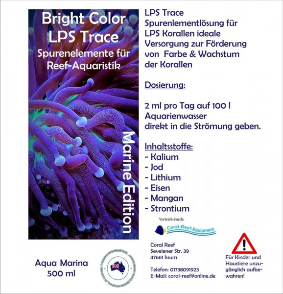 Aqua Marina Bright Color LPS 500 ml