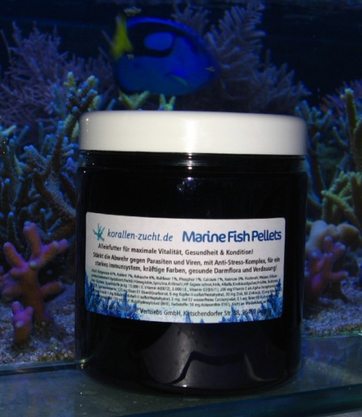 Korallenzucht Marine Fish Pellets 2 mm