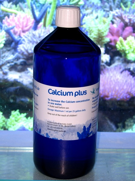 Korallenzucht Calcium plus Konzentrat 1000ml