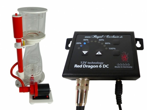 Royal Exclusiv Bubble King® Double Cone 150 mit Red Dragon 6 DC 12V