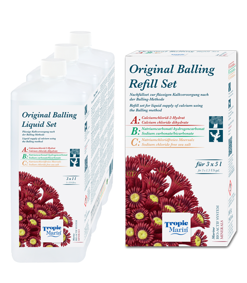 Tropic Marin Original Balling Liquid Set und Refill Set 3x5000ml