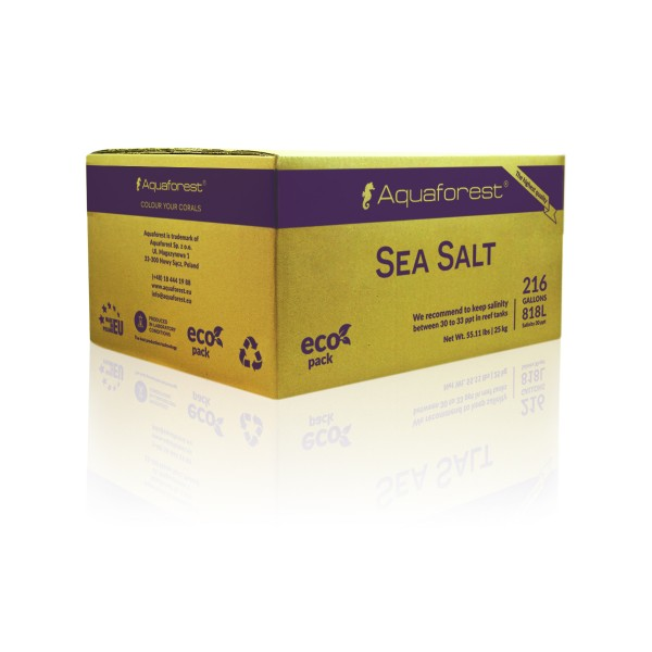 Aquaforest Sea Salz 25kg