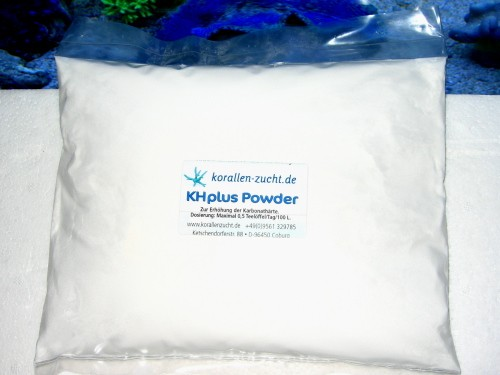 Korallenzucht KH plus Powder 1kg