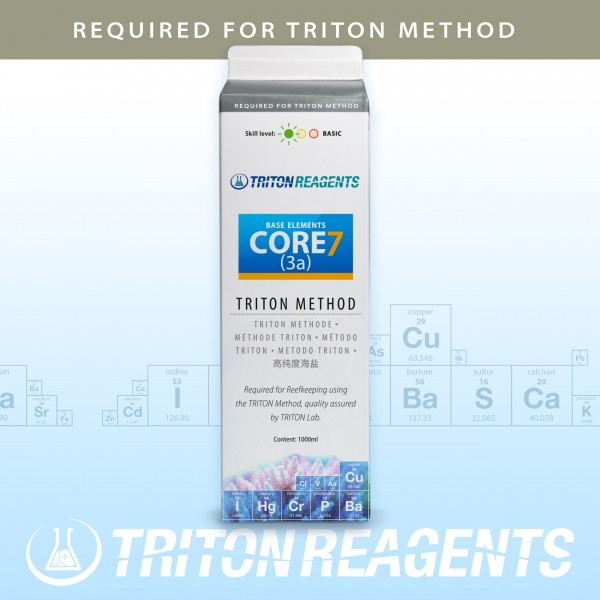 Triton Core7 Base Elements (3a) 1000ml nach der TRITON Methode